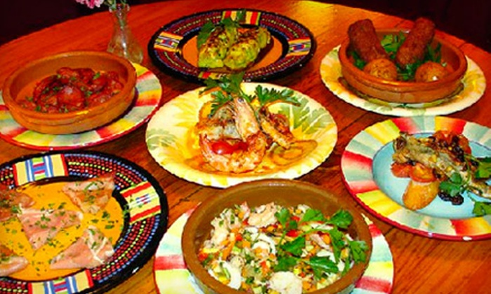 Euzkadi - Bowery: $25 for $50 Worth of Michelin-Recommended Spanish Cuisine and Drinks at Euzkadi