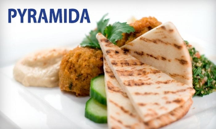 Pyramida - New York City: $15 for $30 Worth of Middle Eastern Cuisine and Drinks at Pyramida