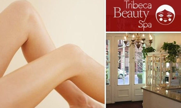Tribeca Beauty Spa - Tribeca: $35 for $75 Worth of Gourmet Waxing Services at Tribeca Beauty Spa