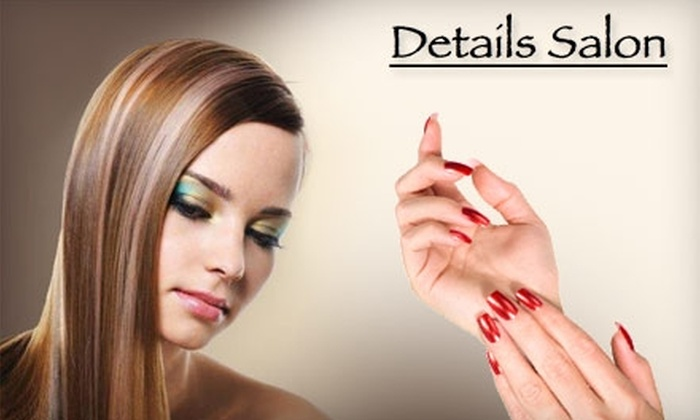 Details Salon - Gulf Gate: Up to 52% Off Salon Services at Details Salon in Sarasota. Choose Between Two Options.
