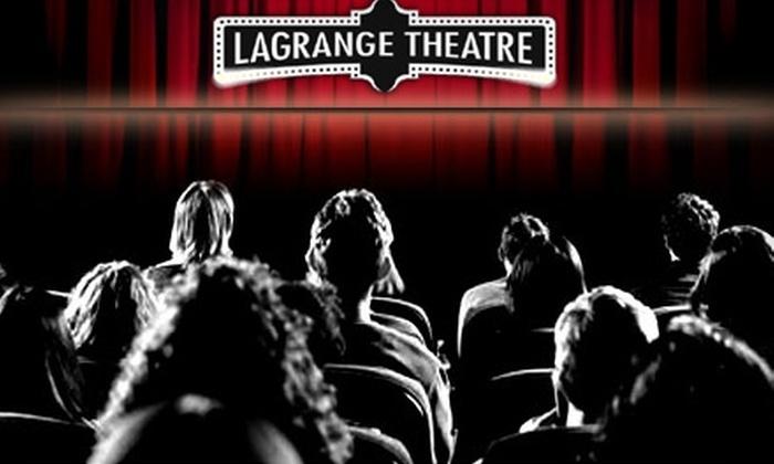 La Grange Theatre - La Grange: $5 for Two General-Admission Movie Tickets at LaGrange Theatre (Up to $11 Value)