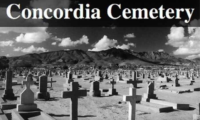 """Walk Through History - Five Points East: $5 for Two Tickets to """"Walk Through History"""" at the Concordia Cemetery (Up to $10 Value)"""