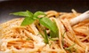 Tolla's Italian Restaurant - Winter Park: Italian Dinner Fare and Drinks at Tolla's Italian Restaurant in Winter Park (Up to 60% Off)). Two Options Available.
