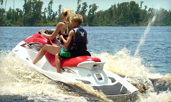 Water Toyz of Clermont - Indian Hills: $65 for a Jet Ski Rental from Water Toyz of Clermont ($130 Value)