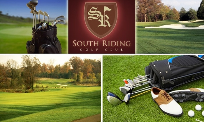 South Riding Golf Club - South Riding: $44 for 18 Holes of Golf with a GPS-Equipped Cart and Lunch at South Riding Golf Club (Up to $99 Value)