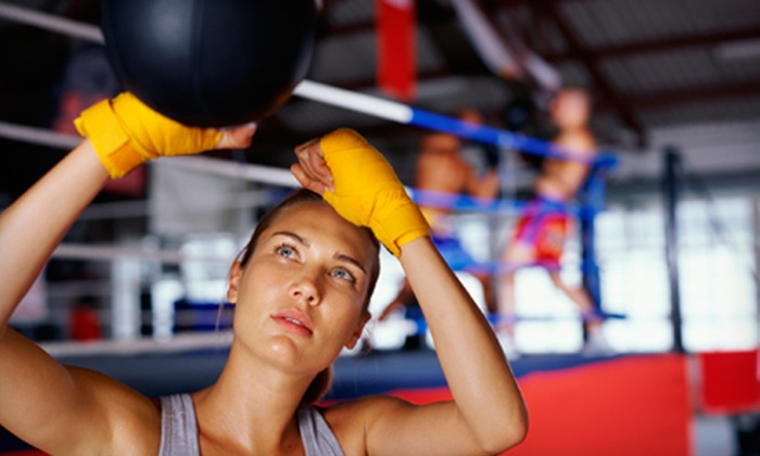 VFitness - Midtown South Central: $39 for a Private Boxing Lesson at VFitness ($85 Value). Three and Five Lesson Options Available.