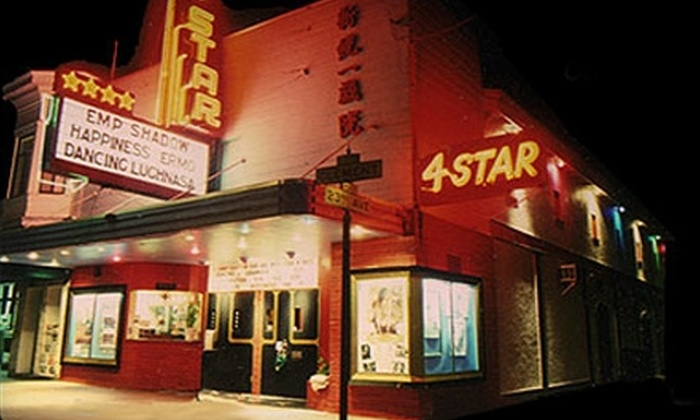 4-Star Theatre - Central Richmond: $9 for Admission for Two to 4-Star Theatre (Up to $18 Value)
