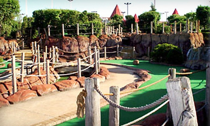 PGN Fun Center - PGN Fun Center: Round of Miniature Golf for 4, 6, 8, or 10 at PGN Fun Center in Hickory Hills (Up to 59% Off)