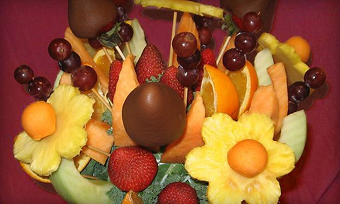 Fresh Fruit Bouquet Company - Three Lakes: $26 for a Custom Fresh Garden Bouquet at Fresh Fruit Bouquet Company ($52.99 Value)