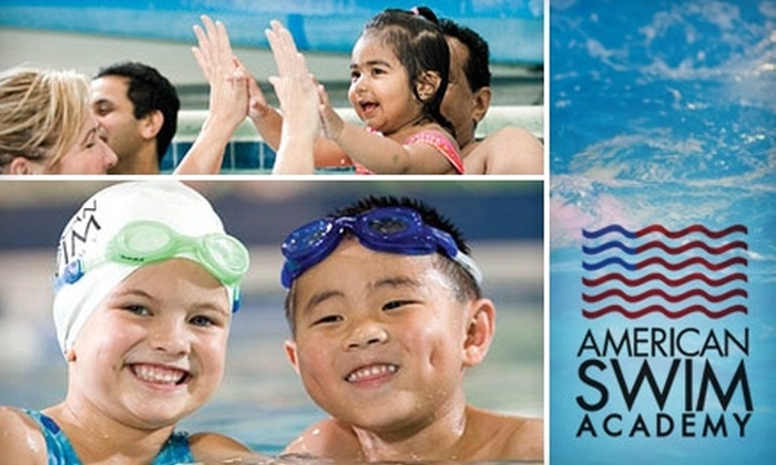 American Swim Academy - Multiple Locations: $36 for One Month of Once-a-Week Swim Lessons at American Swim Academy ($72 Value)