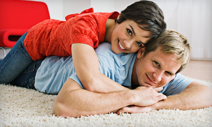 First Class Carpet Cleaning - Multiple Locations: $49 for Three Rooms of Carpet Cleaning from First Class Carpet Cleaning ($99 Value)