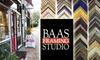 Baas Framing Studio - Stevens: $40 for $100 Worth of Customized Framing at Baas Framing Studio