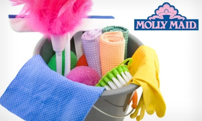 Molly Maid - Multiple Locations: $69 for Two Hours of Home Cleaning from Molly Maid ($160 Value). Choose from Three Service Regions.