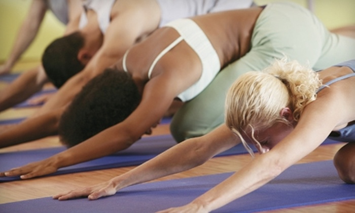 Source Yoga Studio - Santa Barbara: $30 for Five Classes at Source Yoga Studio (Up to $70 Value)