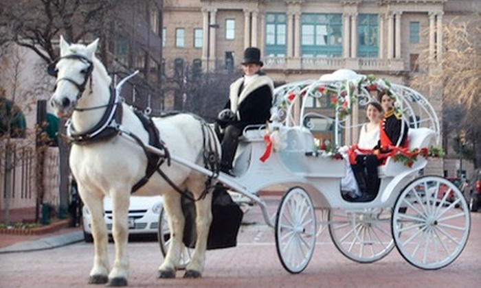 Classic Carriages - North Fort Worth: $45 for a 30-Minute Carriage Ride in Downtown Fort Worth from Classic Carriages ($95 Value)