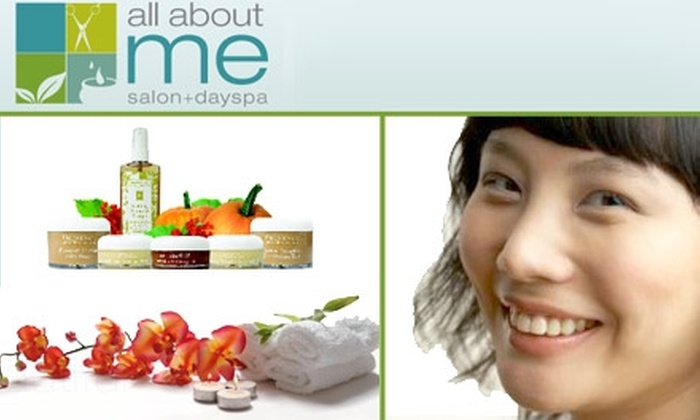 All About Me Salon and Day Spa - Towson: $22 for Mini Facial at All About Me Salon and Day Spa