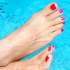 50% Off Foot Detox Spa and Nail Services