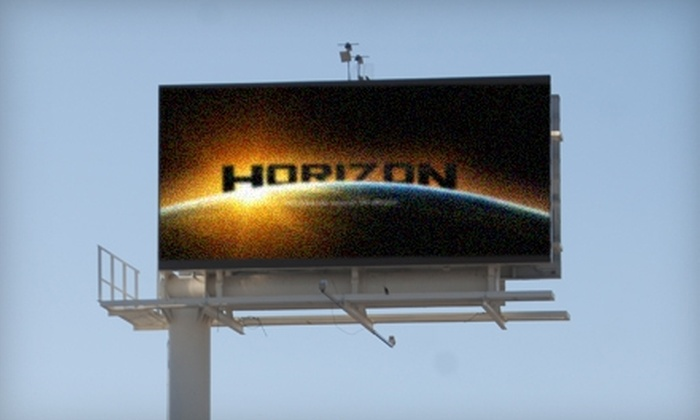 Horizon Sign - San Angelo: Advertisements on Digital Billboard from Horizon Sign. Two Options Available.