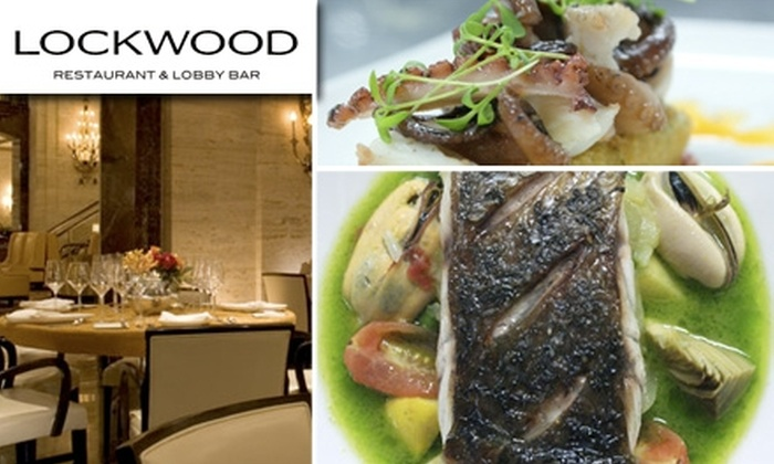 Lockwood Restaurant & Bar - Loop: $50 for $100 Worth of Fine Dining at Lockwood Restaurant