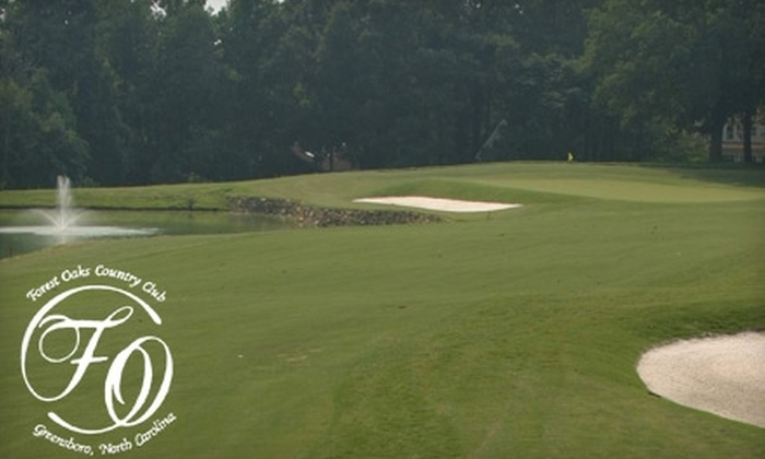 Forest Oaks Country Club - Clay: $29 for 18 Holes of Golf, Cart Rental, and Driving-Range Access at Forest Oaks Country Club ($61 Value)