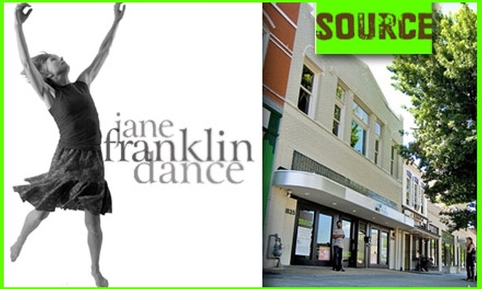 "Jane Franklin Dance - U Street - Cardozo: $15 for One Ticket to Jane Franklin Dance's ""Of Bones and Bridges"" at Source. Buy Here for Saturday, February 27, at 8 p.m. See Below for Additional Date ($28 Value)"