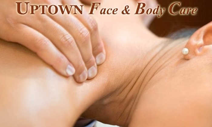Uptown Face and Body Care - Montrose Verdugo City: $40 for 75-Minute Massage Therapy Combo with Foot Reflexology at Uptown Face and Body Care