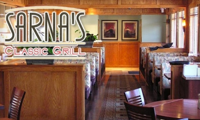 Sarna's Classic Grill - Columbia Heights: $15 for $30 Worth of Upscale American Fare at Sarna's Classic Grill