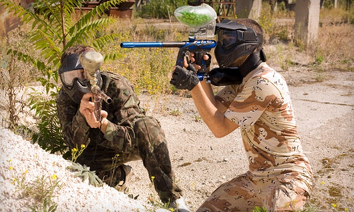 Operation Paintball - Graham: Paintball Outing for Two or Four at Operation Paintball in Graham (Up to 55% Off)