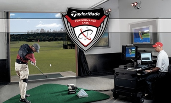 TaylorMade Performance Labs - Bolton: $65 for a Custom Driver Fitting at TaylorMade Performance Labs (Up to $150 Value)