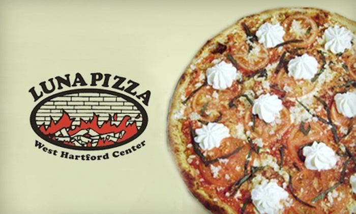 Luna Pizza - Hartford: $20 for $40 Worth of Pizza and Drinks at Luna Pizza