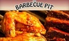 Barbecue Pit - North Riverdale: $10 for $20 Worth of Indian-Influenced Barbecue and Drinks at The Barbecue Pit in the Bronx