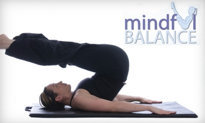 Mindful Balance - Whitby: $20 for Five-Class Pilates Pass to Mindful Balance in Whitby ($65 Value)