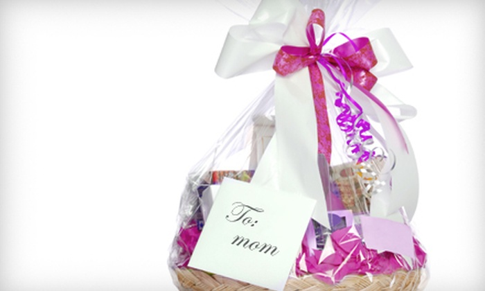 Rebecca's Flowers and Gifts - Broken Arrow: Small or Large Pamper Mom or Cook's Delight Gift Basket at Rebecca's Flowers and Gifts in Broken Arrow (Half Off)