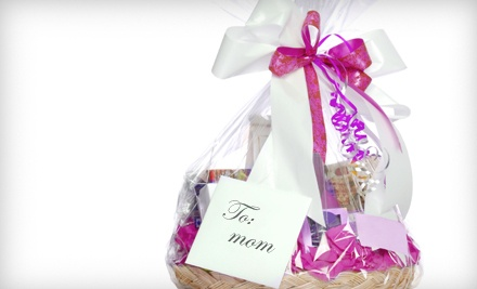 Small Pamper Mom Gift Basket (a $250 value) - Rebecca's Flowers and Gifts in Broken Arrow