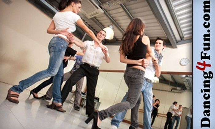 Dancing4fun.com - Lawrenceville: $35 for Six Group Dance Classes from Dancing4fun.com (Up to $72 Value)