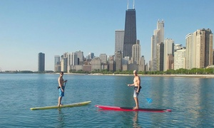 Chicago SUP: 90-Minute Standup-Paddleboard Package for One or Two from Chicago SUP (26% Off)