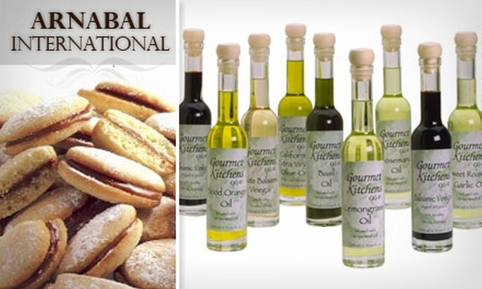 Arnabal International - Los Angeles: $12 for $25 Worth of Gourmet Oils, Vinegars, and Cookies from Arnabal International