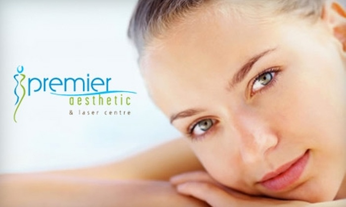 Premier Aesthetic and Laser Centre - Orange: $99 for Three Sessions of Laser Hair Removal at Premier Aesthetic and Laser Centre (Up to a $450 Value)