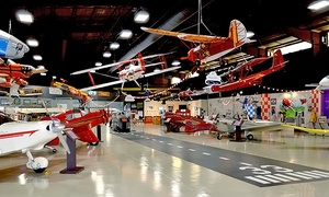 Florida Air Museum: Admission for 2 or 4 or 1-Year Family Membership to Aerospace Discovery at Florida Air Museum (Up to 48% Off)