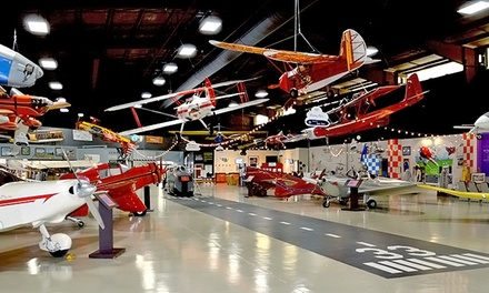 Admission for 2 or 4 or 1-Year Family Membership to Aerospace Discovery at Florida Air Museum (Up to 48% Off)