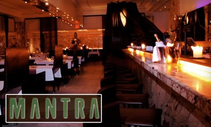 Mantra - Downtown: $20 for $40 Worth of French-Indian Dining and Drinks at Mantra