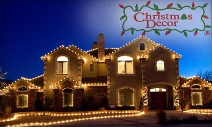 Christmas Décor - Milwaukee: $500 for $1,000 of Professional Holiday Home Lighting from Christmas Décor