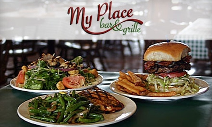 My Place Bar & Grille - Bulverde: $10 for $25 Worth of Burgers and More at My Place Bar & Grille