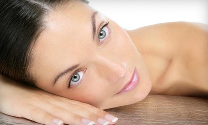 Amaré Hair Salon - Easton: Facial or Facial and Leg and Foot Treatment at Amaré Hair Salon in Easton