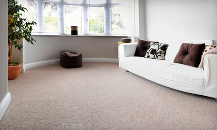 Eco Friendly Services - Japantown: $59 for Two Rooms of Carpet Cleaning from Eco Friendly Services ($159 Value)
