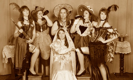 Old-TImey Portrait Session for Two or Four at Old Joe Clark's Portrait Parlor (Up to 42% Off)