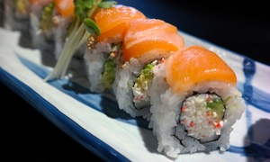 Wasabi Sushi Bar: $18 for $30 Worth of Sushi and Japanese Cuisine at Wasabi Sushi Bar Edwardsville