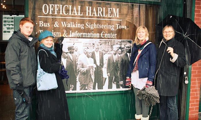 Harlem Heritage Tours - Harlem: Harlem Multimedia Walking Tour for One, Two, or Four from Harlem Heritage Tours (52% Off)