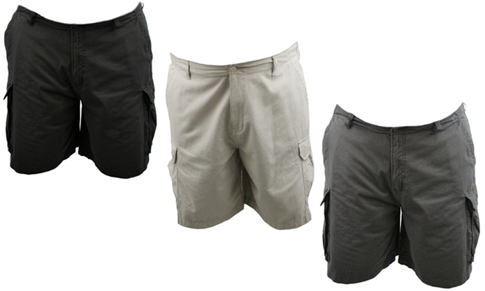d178aaec50e Big and Tall Men s Cargo Shorts