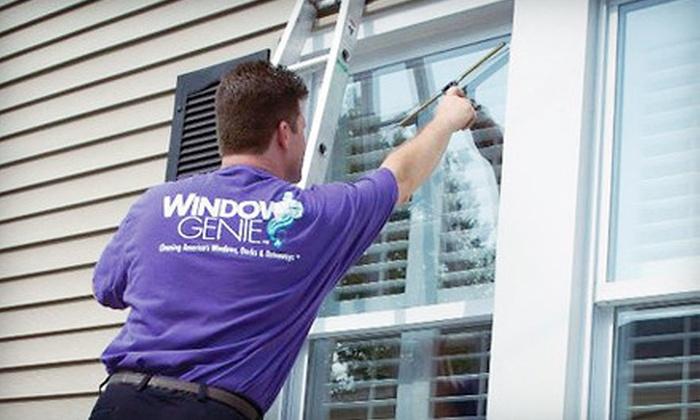 Window Genie - Zionsville: $49 for $100 Worth of Window-CleaningServices from Window Genie